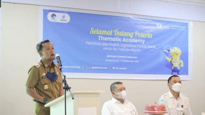 Wakil Bupati Jeneponto Buka Pelatihan Thematic Academy untuk Pekerja Migran