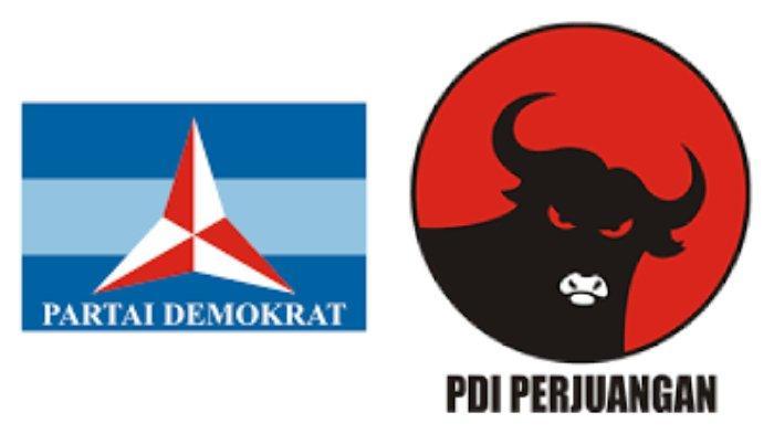 Elektabilitas Partai Demokrat Naik Kendati AHY Mau Dikudeta, Bandingkan PDIP yang Dipimpin Megawati