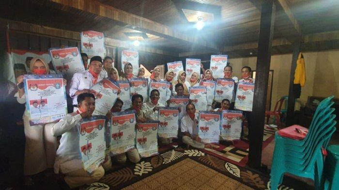 Gelar Pendidikan Politik, Sekretaris Gerindra Soppeng Ingatkan Kader Sosialisasikan Akar-LHD