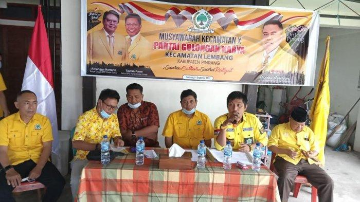 Golkar Pinrang Mulai Konsolidasi Kecamatan, Usman Marham: Omong Kosong Perang Tanpa Pasukan