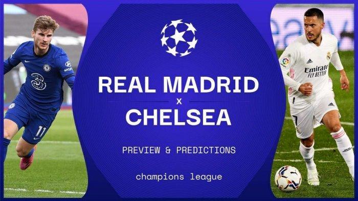 LIVE TV ONLINE 4 Link Live Streaming Liga Champions Real Madrid vs Chelsea - Nonton Gratis Live SCTV