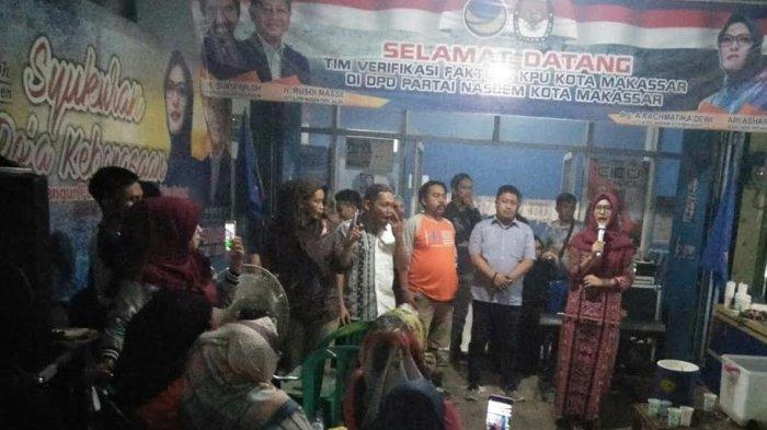 Usai Pilwali, Cicu Imbau Kader NasDem Makassar Tetap Jaga Silaturahmi