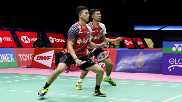 Perempat Final Indonesia Masters 2019 Rasa Final Asian Games 2018, Fajar/Rian Tak Mau Kalah Lagi