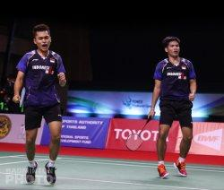 Hasil Quarterfinal Thailand Open 2021: DaddiesTumbang, Penerus Minions Bikin Kejutan