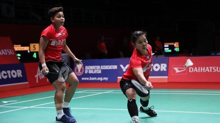 Main 85 Menit, Greysia/Apriyani Gagal Melaju ke Final Malaysia Masters 2020