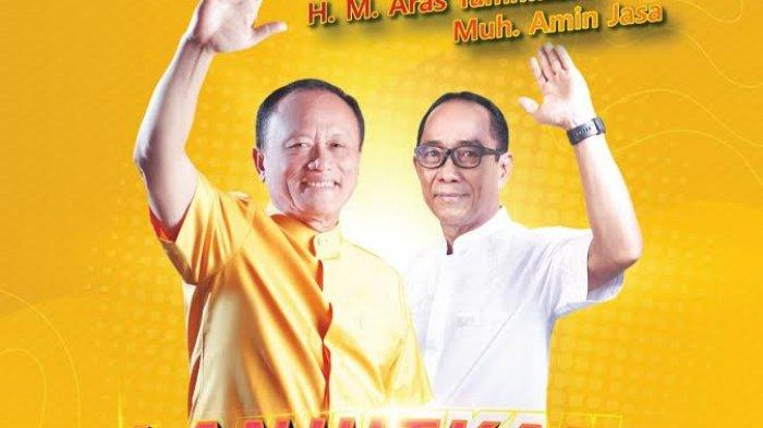Aras Tammauni - Amin Jasa Bakal Lawan Kotak Kosong di Pilkada Mamuju Tengah