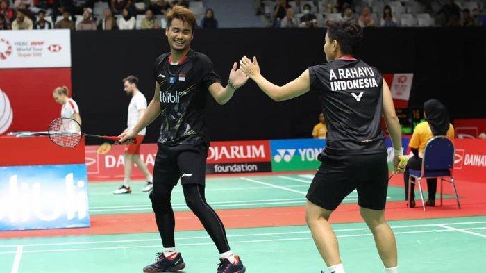 Jalan Mulus Tontowi/Apriyani di Indonesia Masters 2019, Melaju ke Babak Kedua Tanpa Perlawanan