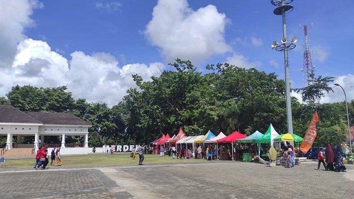 Ada Pasar Murah di Lapangan Merdeka Bone, Cuma 3 Hari, Pengunjung Wajib Patuhi Prokes