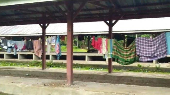 Tak Digunakan, Pasar Tibona Bulukumba Kini Jadi Tempat Makan Sapi dan Jemuran