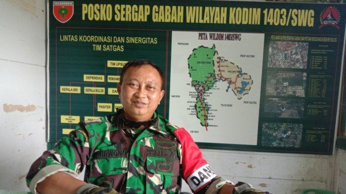 Sering Tawuran Pemuda, Kodim 1403 Dirikan Pos Tentara di Kelurahan Mancani Palopo
