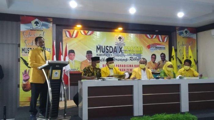 Terpilih Pimpin Golkar Luwu, Patahudding Ogah Kalah Lagi di Pilkada