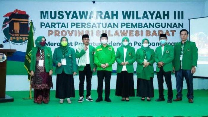 Patmawati Fahmi Terpilih Pimpin DPW PPP Sulbar Periode 2021 -2026