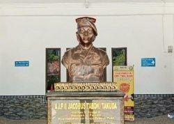 Patungnya Diabadikan di Plaza Pelayanan Polres Tana Toraja, Siapa Jacobus Taboki Takuda?