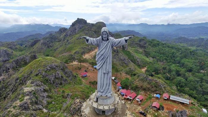 Objek wisata Patung Yesus Diresmikan Presiden Akhir Tahun Ini