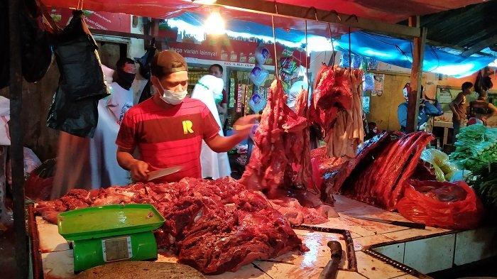H-2 Idulfitri, Harga Daging Sapi di Pasar Sentral Maros Tembus Rp 120 Ribu Sekilo