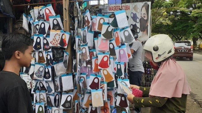 Cerita Penjual Masker di Jeneponto, Dapat Keuntungan Lebih Selama Pandemi Covid-19