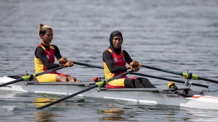 Dayung Sulsel Pecah Telur, Nurtang Rebut Perak PON Papua Nomor Rowing W1X