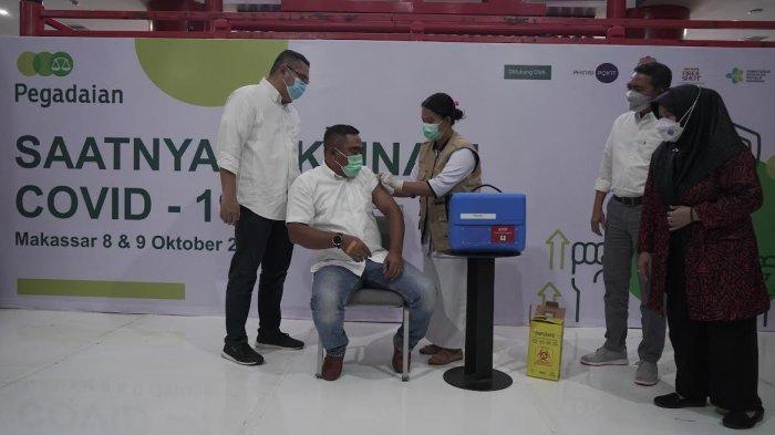 Buka Sentra Vaksinasi, Pegadaian Siapkan 2 Ribu Dosis Vaksin di Makassar
