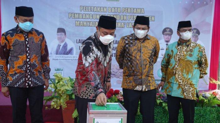 Plt Gubernur Sulsel Launching Gerakan Sejuta Koin Wakaf Pendidikan di Takalar