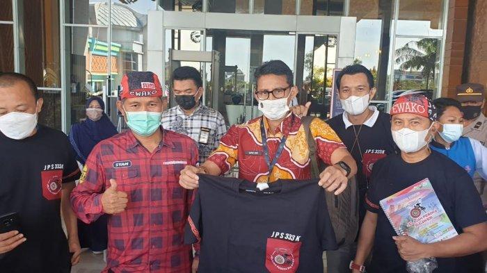 Sandiaga Uno Puji Even Jelajah Pesona Sulawesi, Bersepeda dari Makassar Hingga Toraja