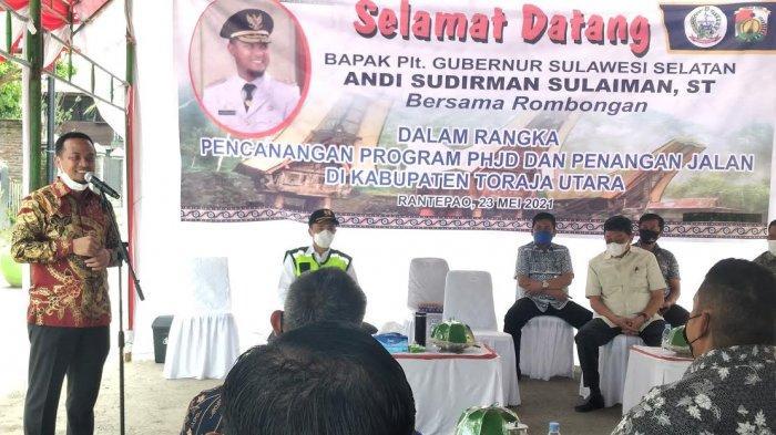 Di Toraja, Plt Gubernur Sulsel Umumkan Masih Bersama Nurdin Abdullah