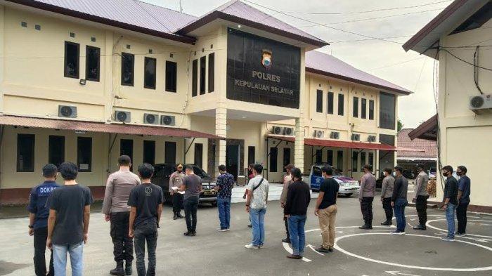 88 Personel Polres Selayar Disiagakan Pengamanan Hari Paskah