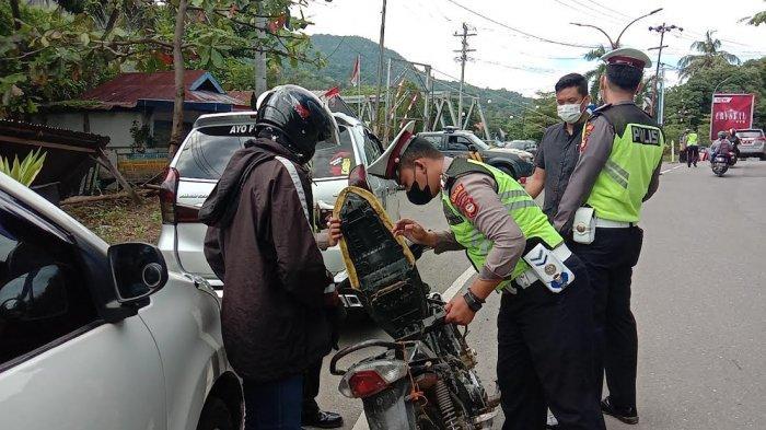 3 Hari Operasi Patuh, Satlantas Polres Enrekang Jaring 30 Pengendara