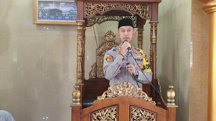 Kapolres Enrekang Safari Jumat di Masjid Nurul Huda Alla