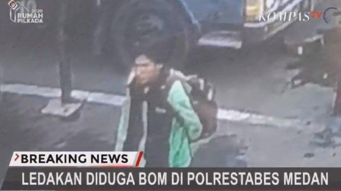 Gerak -gerik Pelaku Sebelum Ledakkan Bom di Polrestabes Medan,Identitas Terungkap Ternyata Mahasiswa