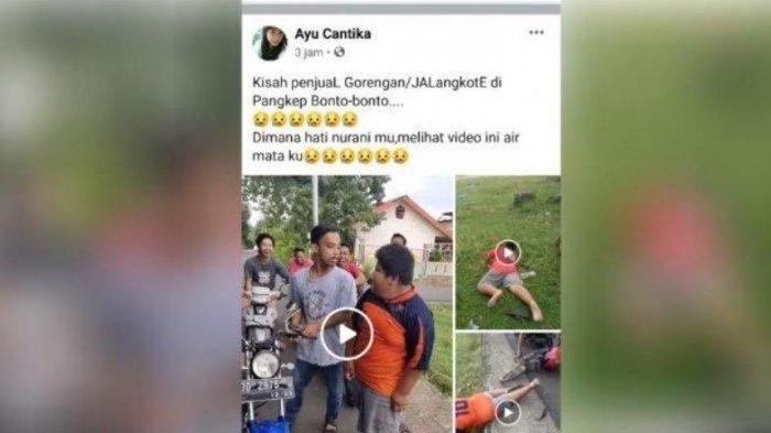 Kisah Rizal Penjual Jalangkote Korban Bully di Pangkep, Nekat Jualan karena Niat Mulia Berikut Ini?