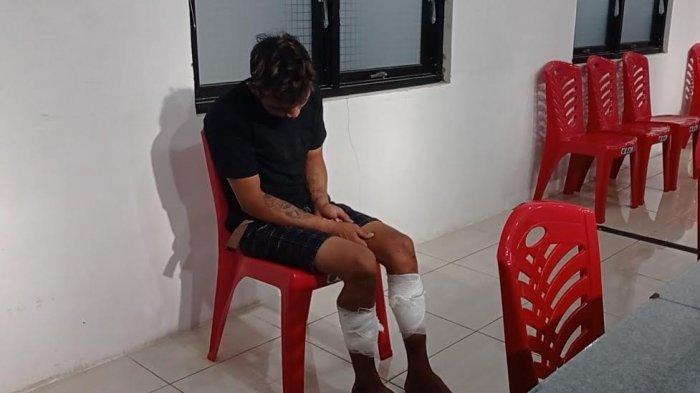 BREAKING NEWS: Polres Pinrang Amankan Pelaku Jambret Lintas Kabupaten, Betis Kanan & Kiri Ditembak