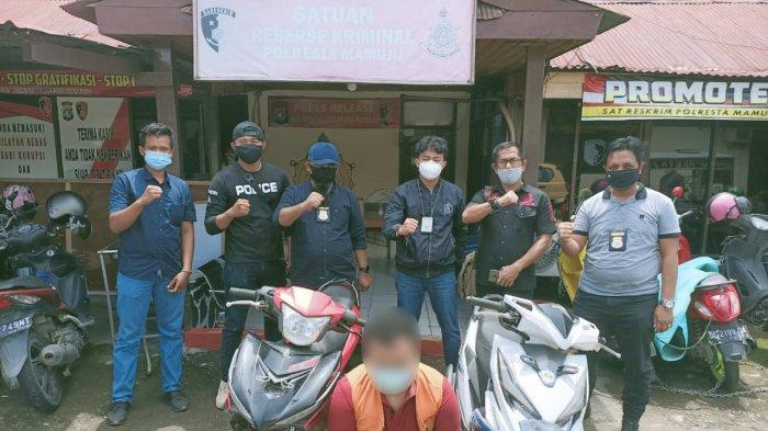 Tim Phyton Polresta Mamuju Tangkap Pelaku Penipuan dan Penggelapan di Sidrap