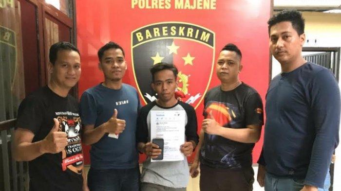 Sebar Hoax Pasien Virus Corona Meninggal di RSU Regional Sulbar, Warga Majene Diringkus Polisi