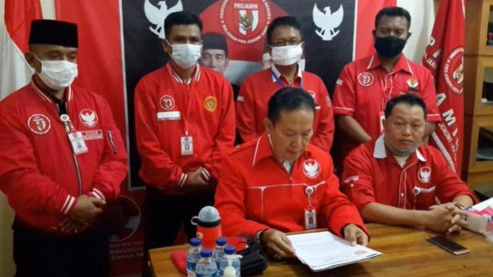 Ambrosius Nababan, Ketua Relawan Joko Widodo Akhirnya Minta Maaf ke Natalius Pigai dan Warga Papua