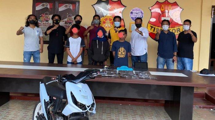 Polisi Tangkap Dua Pencuri Emas 30 Gram di Belopa