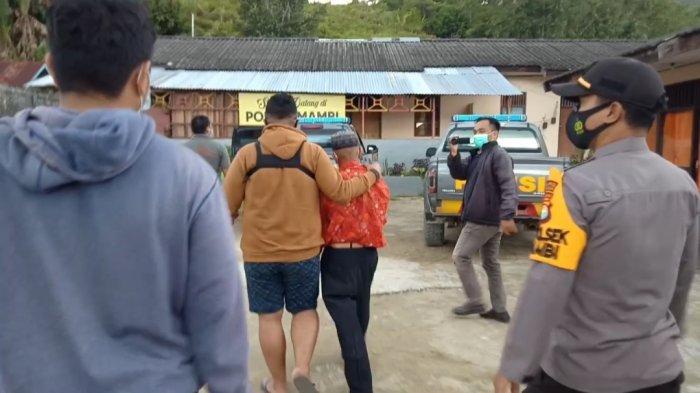 Kakek yang Cabuli Cucunya di Kecamatan Mambi Dibawa ke Mamasa