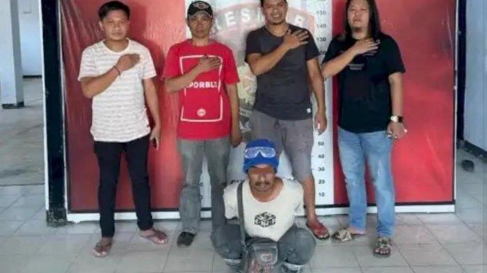 Tiga Kali Cabuli Anak Tirinya Berusia 10 Tahun, Warga Tanete Riaja Barru Ditangkap Polisi