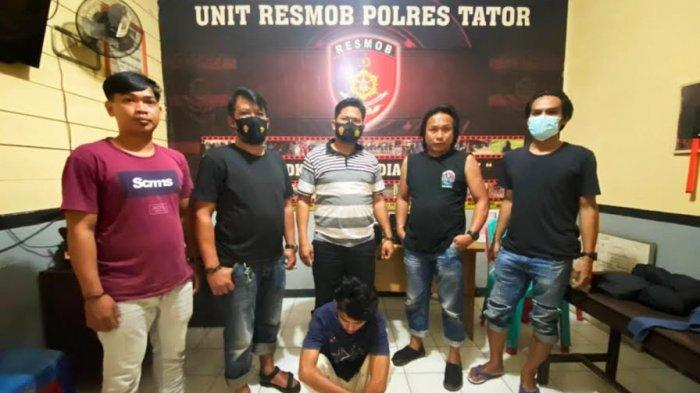 Pelaku pencabulan terhadap anak dibawa umur di Tana Toraja, Kamis (15/7/2021)