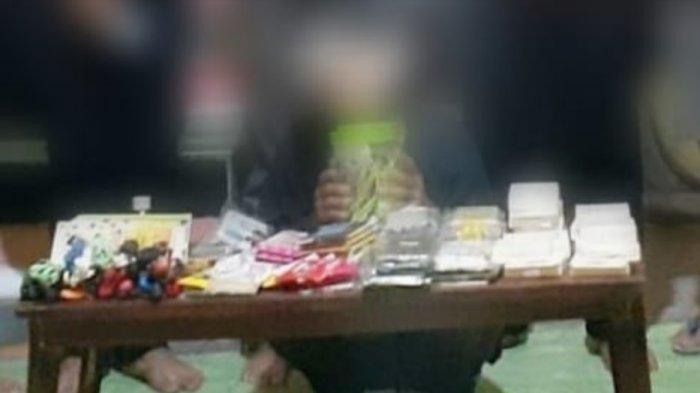 Polsek Tanete Riattang Bone Bekuk Satu Pelaku Pencurian di Konter Pulsa