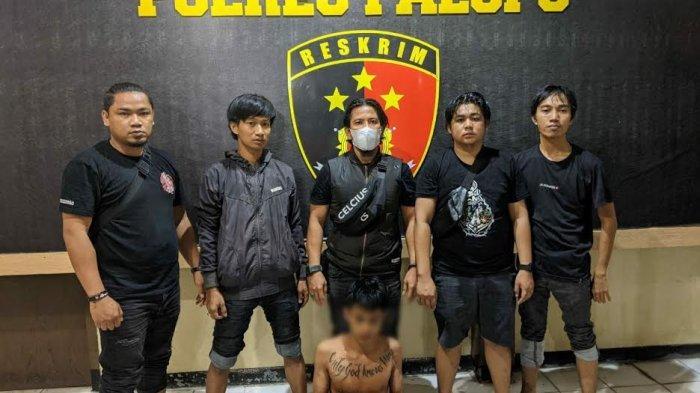 Pukul Orang Pakai Batu di Warung Ballo, Pria Bertato di Pajalesang Palopo Ditangkap Polisi