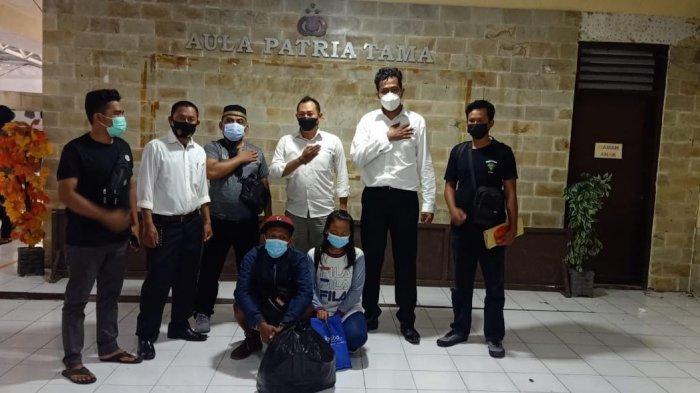 Pelaku Penggelapan Barang Eletronik di Mamuju Ditangkap di Makassar