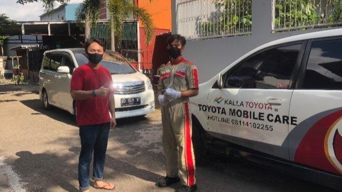 Tak Perlu ke Bengkel, Servis Mobil Toyota Bisa di Rumah dengan Layanan TMC