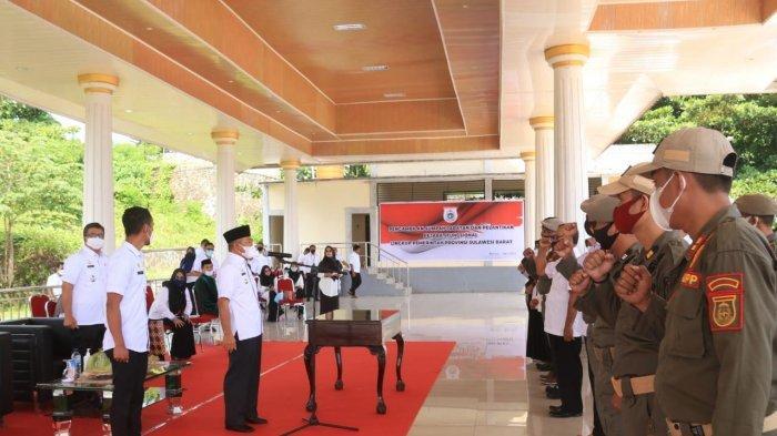 Gubernur Sulbar Lantik 71 Pejabat Fungsional