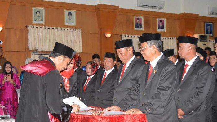 35 Anggota DPRD Sidrap Dilantik, Ini Nama-namanya