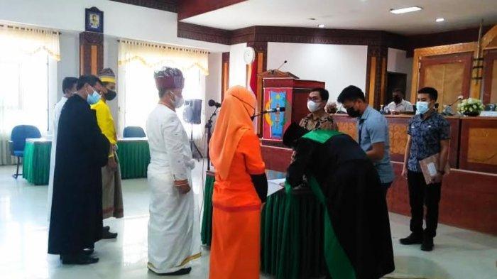 Lantik Badan Permusyawaratan Lembang, Wabup Tana Toraja: Kedepankan Kepentingan Masyarakat