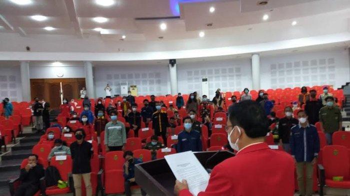 Bidang Kemahasiswaan Unhas Lantik 32 Pengurus UKM Periode 2021