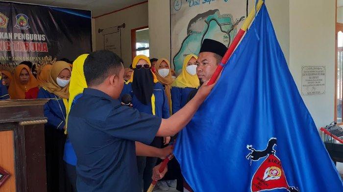 60 Anggota Karang Taruna Desa Sapanang Jeneponto Dikukuhkan
