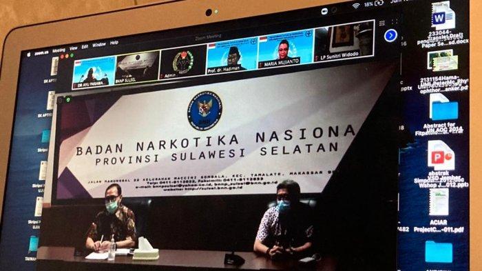 Jenderal Hadiman Lantik Ayu Parawansa Jadi Ketua BERSAMA Sulsel untuk Masyarakat Bersih Narkoba