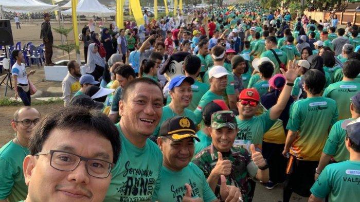 Wabup Luwu Timur Lepas Pelari Sorowako Run PT Vale Indonesia