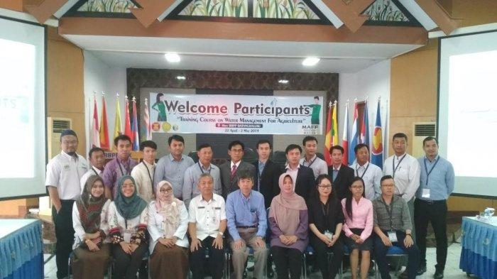 BBPP Batangkaluku Helat Pelatihan Pertanian Internasional se-Asean di Gowa